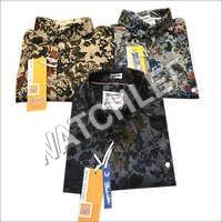 Mens Satin Shirts