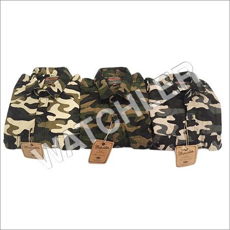 Mens Cargo Military Shirts