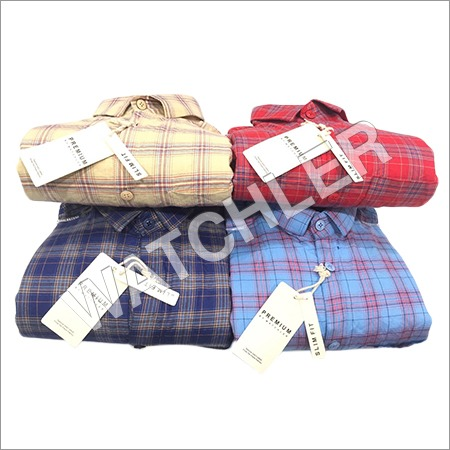 Mens Casual Checks Shirt