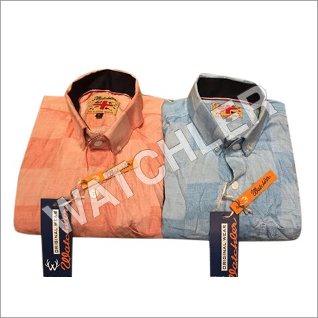 Mens Milanchae Check Shirt