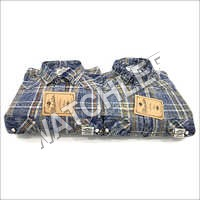 Mens Sulphur Cargo Checks Shirt