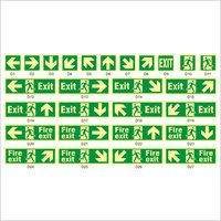 Emergency Escape Signs