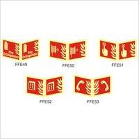 Fire Fighting Equipment Signages
