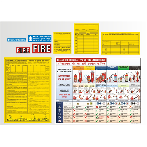 General Stickers and Fire Floor Plan