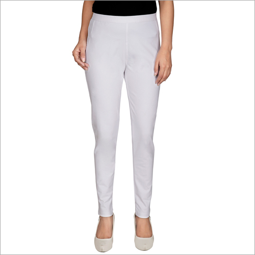 Ladies White Plain Lower