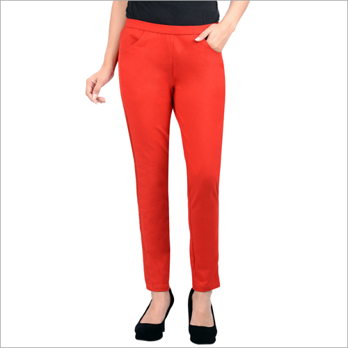 Ladies Red Lower