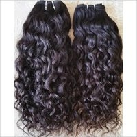 Double Machine Weft , Brazilian Natural Deep Curly Hair ,