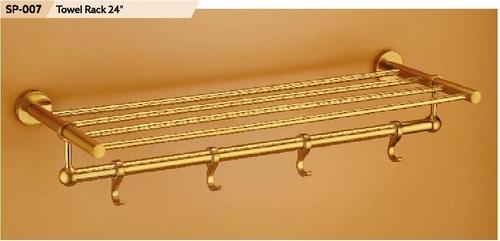 "24"" Brass Towel Rack"
