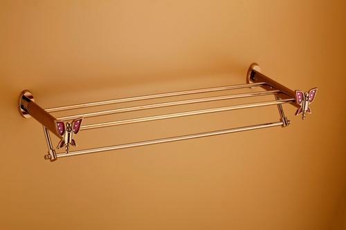 PVD Finish Towel Rack