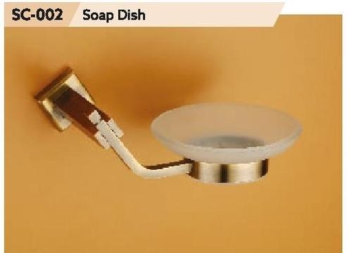 Chrome Finish Brass Soap Dish