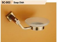 Chrome Finish Brass Soap Dish