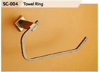 Chrome Finish Brass Napkin Ring