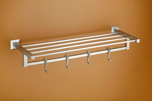 Luxurious Brass Towel Rack