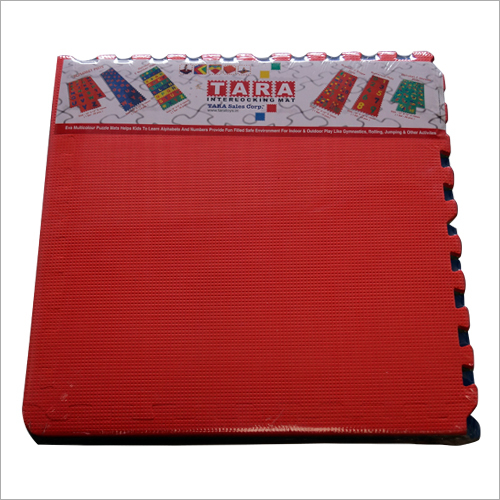 Red Interlocking Mat