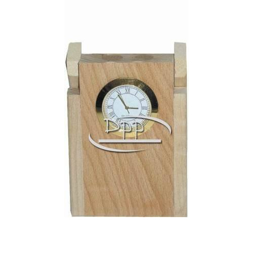 Wooden Pen Stand With Pen