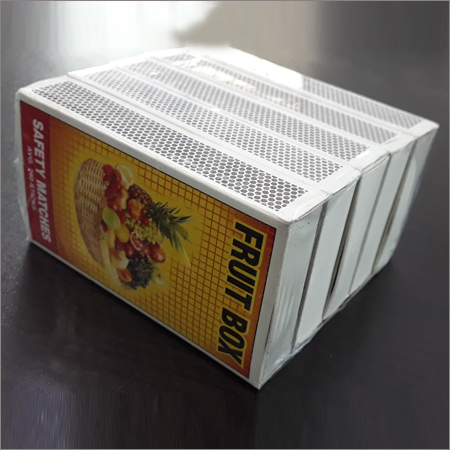 Carboard Safety Matchbox