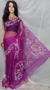 Resom Muslin Saree