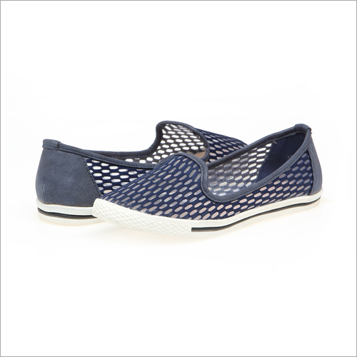 Wander Girl Blue Slip-Ons
