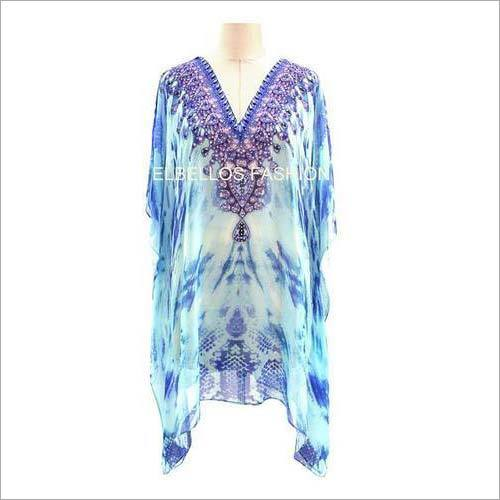 Embellished Digital Printed Kaftans
