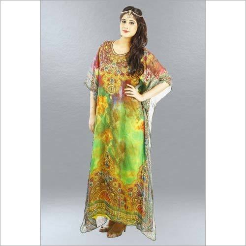 Exclusive Digital Print Kaftan