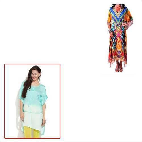 Trendy Digital Kaftan for Girls