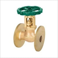 Bronze Auxiliary Steam stop Valve Straight Type (Flanged)