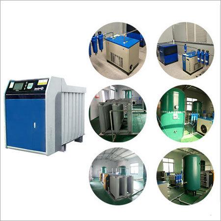 Oxygen Generator for Cylinder Filling System