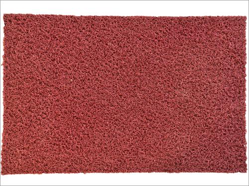 Burgundy door mats