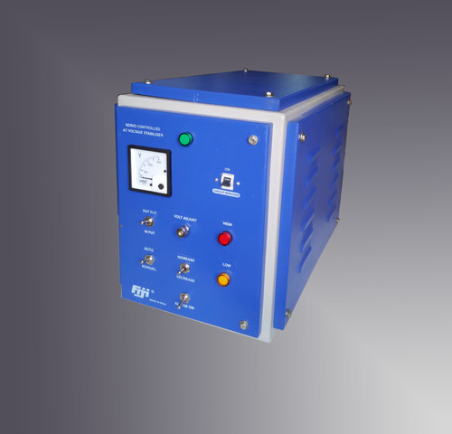 Single Phase Servo Controlled Voltage Stabilizer