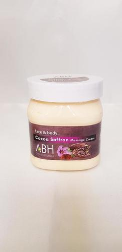 Cocoa Saffron Massage Cream