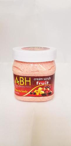 Fruit Cream Scrub