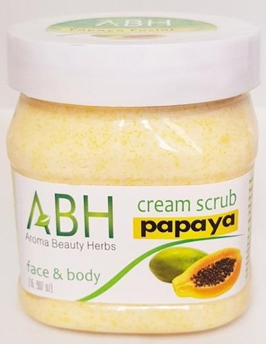 Papaya Scrub Cream