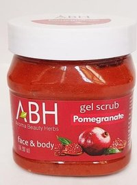Pomegranate Scrub Gel