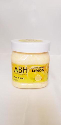 Lemon Cream Scrub