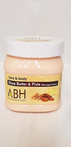 Shea Butter & Pista Massage Cream