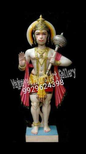 Stone Hanuman Statue