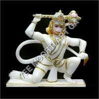 Polished Marble Hanuman Moorti