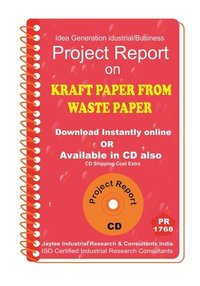 Kraft Paper From Waste paper manufacturing eBook