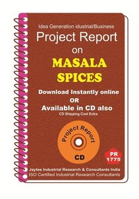 Masalaspices manufacturing Project Report eBook