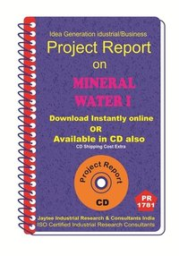 Mineral Water Part A manufacturing project Report eBook