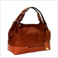Ladies Brown Color Hand Bag