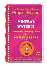Mineral Water Part B manufacturing project Report eBook