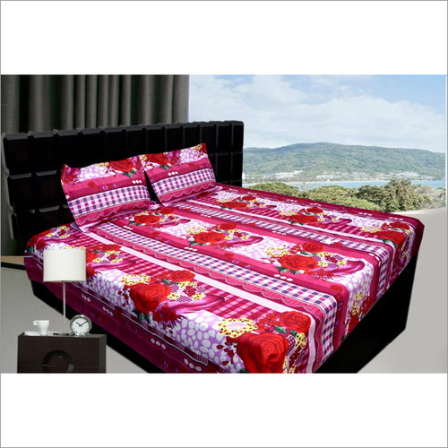 3d Bedsheet Fabric 46rs Meter