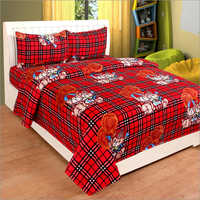 Cartoon Print Bedsheets For Kids
