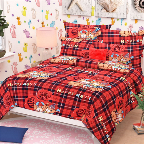 One Bedsheet With 2 Pillow Covers