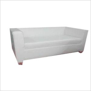 3 - Seater Sofa ( White )