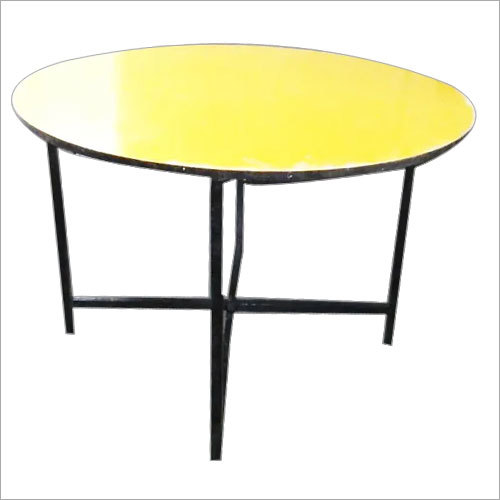 4 Feet Wooden Round Table