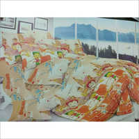 Cartoon Print Bedsheet