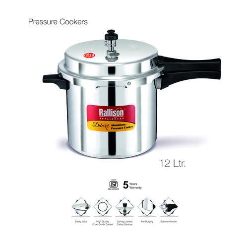 Pure Aluminum Pressure Cooker