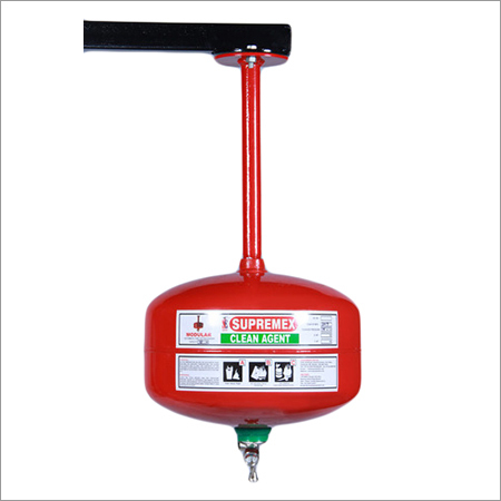 Clean Agent Automatic Modular Fire Extinguisher